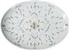 Horsea Large Porcelain Coupe Serving Platter