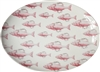 Snappy Large Porcelain Coupe Serving Platter