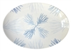 Medium Porcelain Coupe Serving platter, Flora