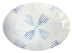 Flora Medium Porcelain Coupe Serving Platter