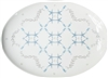 Starlight Large Porcelain Coupe Serving Platter