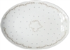 Pearls Medium Porcelain Coupe Serving Platter