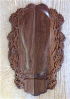 3D Carved European Mount Face Plate