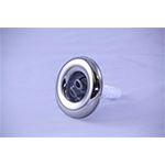 Jet Poly Storm Twin Rotational, SS/Gray- 4""
