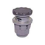 "1"" Air Control Valve- (2-1/4"" Scalloped Cap)- Graphite"