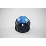 Massage Ball w/ Holder Blue