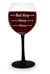 Bad Assy Wine Glass