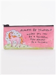 Blue Q Pencil Case - I Have Mood Swings