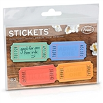 Stickets Ticket Sticky Notes