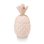 Illume Pineapple Ceramic Candle: Coconut Milk Mango