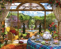 The Conservatory 1000 Piece Jigsaw Puzzle