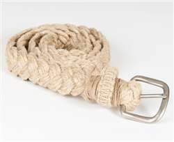 HB4-H Hemp Twine Braided Belt
