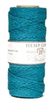 HS20CO-Aquamarine-20lbs Hemp Cord