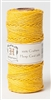 HS20CO-Yellow-20lbs Hemp Cord