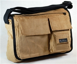 PUR126-CR Hemp Corduroy Ten Pocket Bag