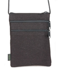 PUR129-H Hemp 3-Zip Purse-Medium