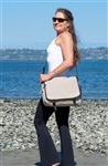 PUR138-H Hemp Two Tone Urban Bag