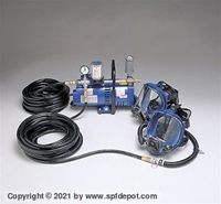 Allegro 9200-02 Two Worker Mask System - 50' Hose