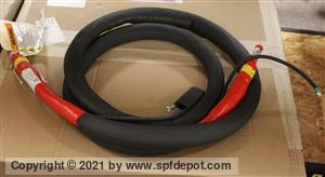 "HEATED 1/4 x 10'  ""A"" Side Whip Hose; 3500psi"