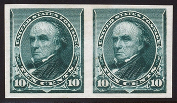 "#226P5 Pair  XF-Superb Mint OG Never Hinged, XF-Superb, ""Deep Rich Color!"""