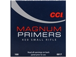 INNESCHI CCI MAGNUM 450 SMALL RIFLE PRIMERS 17EU (100pz)