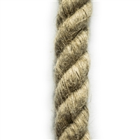 <b>ORDER#: HR20</b> <br>100% Hemp Rope 20mm (3/4 inch)