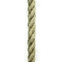 <b>ORDER#: HR6</b> <br>100% Hemp Rope 6mm (1/4 inch)