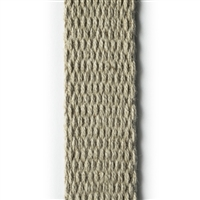 <b>ORDER#: WB01-C</b> <br>100% Dark Hemp Canvas Webbing 1 Inch