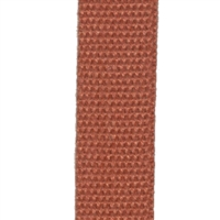 <b>ORDER#: WB01-ORG</b> <br>100% Hemp Webbing 1 Inch, Orange