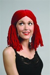 Red Raggedy Anne Wig - Adult