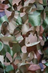 "Green and Brown Camo Ceiling Decoration 97""x 70"""