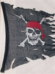 "24"" X 35"" Pirate Flag Handmade"