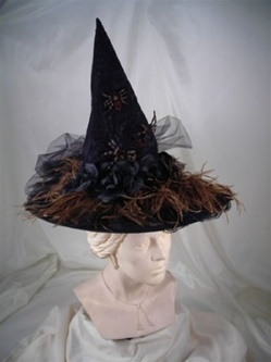 Victorian Adult Witch Hat