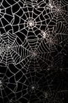Halloween Spiderweb Black Tablecloth - Haunted House Decoration