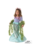 Toddler Lil Mermaid Girls Costume
