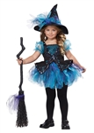 Toddler Blue Darling Witch Costume