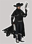 Boys Darkwatch Jericho Cross Kid Costume