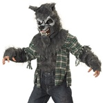 Howling at the Moon Werewolf Costume for kids