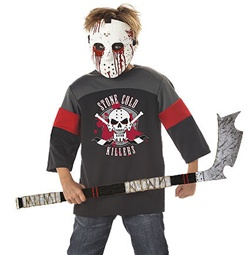 Bloody Hockey Costume for Kids - Bloody Sport