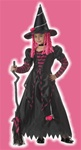 Kids Cute Witch Costume