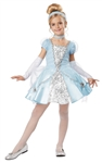 Deluxe Girl's Cinderella Costume for Halloween - Disney