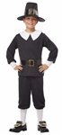 Child Pilgrim Costume - Boy - Thanksgiving