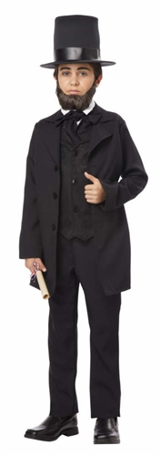 Child Abraham Lincoln Costume - Kid's Honest Abe