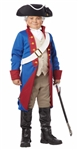 Child American Patriot Costume - Colonial Soldier