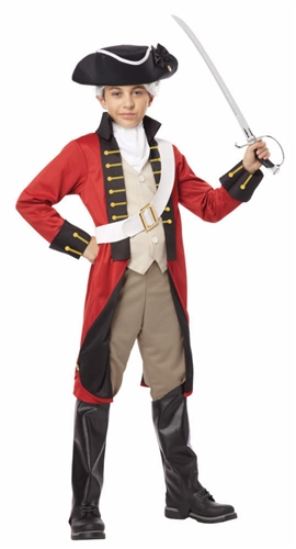 Child British Redcoat Costume - Soldier