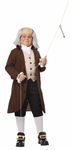 Child Benjamin Franklin Costume - Colonial Boy