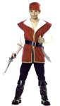 Kids Pirate Costume - the Red Rogue