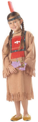 Indian Girl Costume - Child