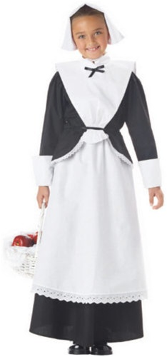 Pilgrim Girl Costume - Kids