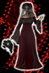 Womens Gothic Maiden Costume